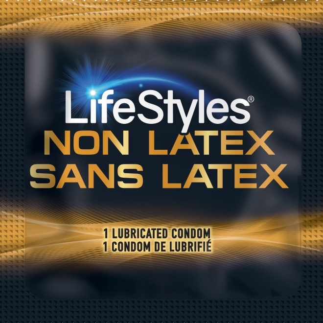 Lifestyles NON-LATEX Polyisoprene (1,008/ Case)