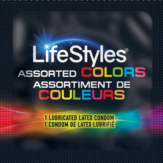 LifeStyles Assorted Colors<br>Condoms<br>(1008/case)