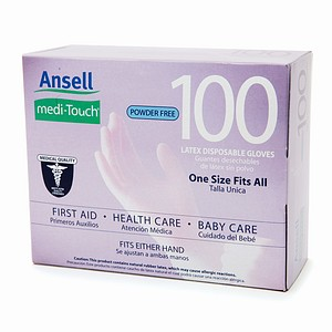 Ansell Medi-Touch Gloves<br>(100/box)