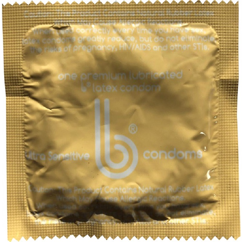 b Condoms<BR>Ultra Sensitive (1000/case)