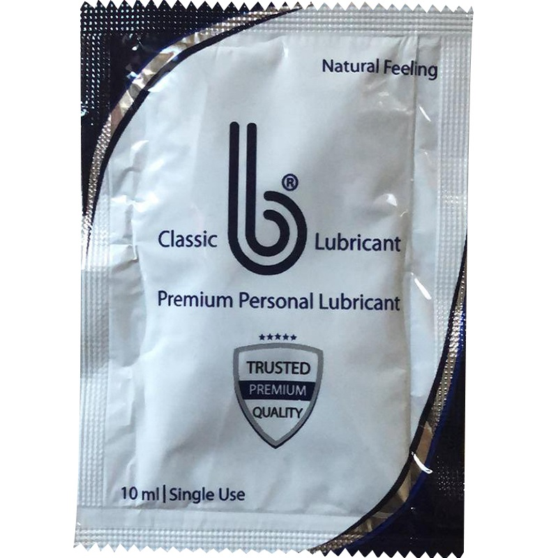 b  Classic Water Based<br>Personal Lubricant<br>(1000/case)