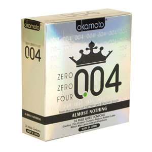 Okamoto 004 Thin Condoms 24ct