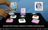 Condom Pals Custom Labeled by Total Access Group