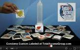 Custom Labeled Condoms at Total Access Group