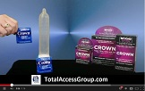 Crown Lubricated Condoms Review by Total Access Group