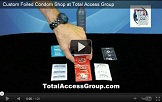 Custom Foiled Condoms at Total Access Group