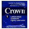 Crown Skin Less Skin lubricated Condoms<br><br>WEB SPECIAL FOR NON-PROFIT AND GOV BUYERS ONLY