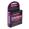 Crown Lubricated Condoms<br>3ct box (bundle of 6 x 3ct)<br>Exp Date 10-2018