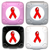Red Ribbon AIDS Awareness Condom Pal™ Color Assortment