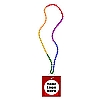 Custom Labeled Carnival Condom Beads (Rainbow Beads)