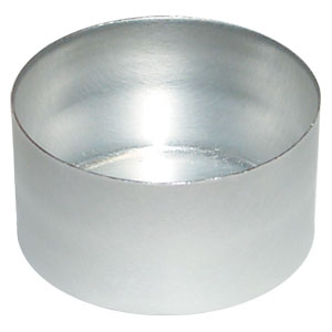 Aluminum Rinse Caps (Smooth Surface)<br>1000/case #HR-C-S-1402