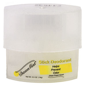 Stick Deodorant 0.5oz Clear