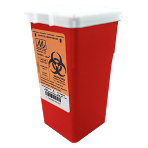 Maxxim Small 1 Quart Sharps Container