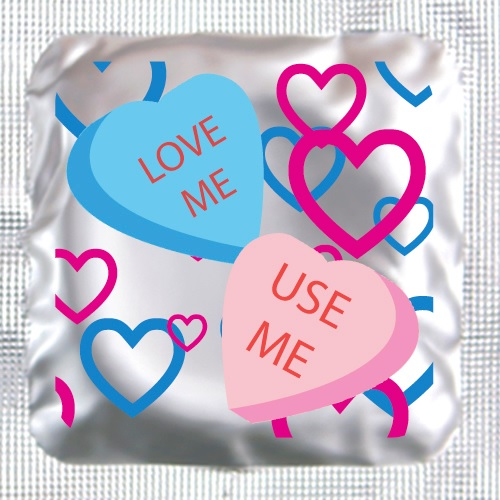 Love Me <BR>Lubricated Condom<br>(150/box)
