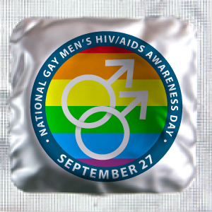 National Gay Men's HIV/AIDS Awareness Day Condoms (Sept. 27)