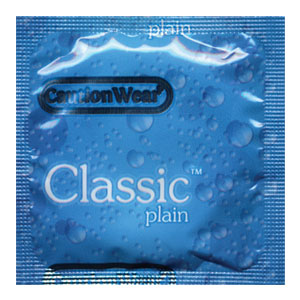 Caution Wear Classic Lubricated Condoms