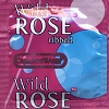 Caution Wear Wild Rose Ribbed Condoms