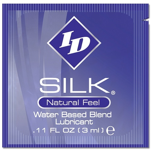 ID Silk Hybrid Lubricant 3ml Foils (144/Bag)<br>(EXP. 9-2020) Limited qty avail.