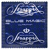 Strapped Ultrathin Blue Magic lubricated condoms<br>CURRENTLY NOT AVAILABLE