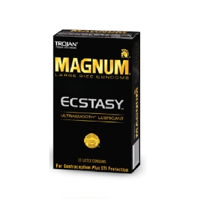 Trojan Magnum Ecstasy Ultrasmooth Condoms (10 Packs)