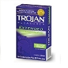 Trojan Pleasures Extended Pleasure Condoms 12's vertical pack