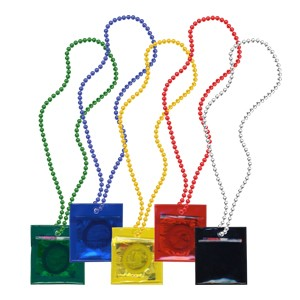 Carnival Condom Beads (Assorted & Unlabeled)
