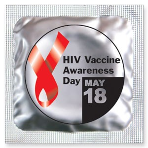 HIV Vaccine Awareness Day Condoms (May 18)