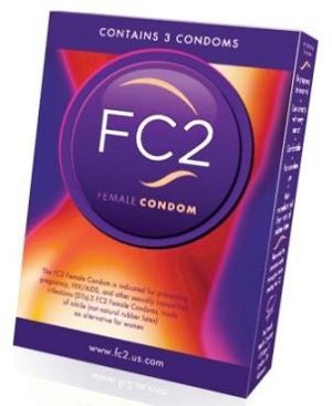 FC2 Female Condoms 3 ct box #271594