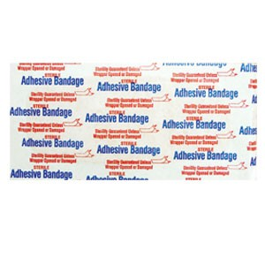 "Large Adhesive  2"" x 4 1/2"" Bandages"