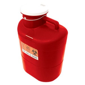 Maxxim Extra Large 23 Quart Sharps Container