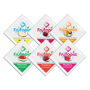 ID Frutopia Assorted Flavors Lubricant 3ml Foils Bag