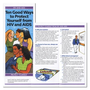 Ten Good Ways to Protect Yourself from HIV & AIDS