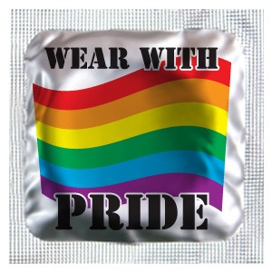 WEAR WITH PRIDE Assorted Color Condoms