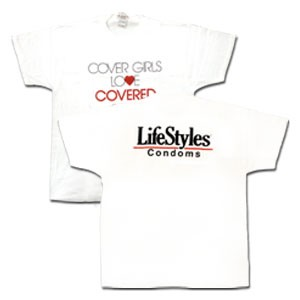 'Cover Girls Love Covered Boys' T-shirt