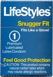 Vending Machine Condom LifeStyles Snugger Fit