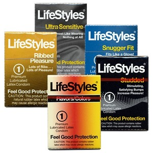 Vending Machine Condom LifeStyles Sampler