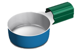 Apothicom Cooker Large, a Non-Sterile Maxicup in bulk<br>(1000/bag)
