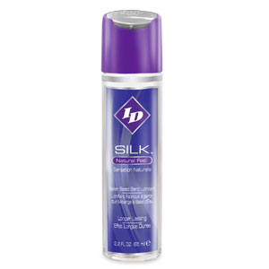 ID Silk Lubricant - Silicone and Water Blend 2.2 fl oz Flip Cap Bottle (24cs)