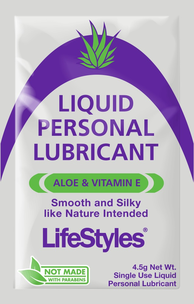Lifestyles Liquid Personal Lubricant<br>4.5g foil (1000/case)