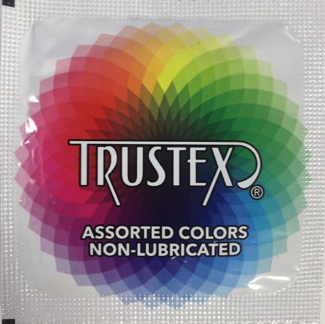 Trustex Assorted Colors<br>Non-Lubricated