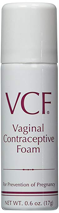 VCF Vaginal Contraceptive Foam 0.6 oz can
