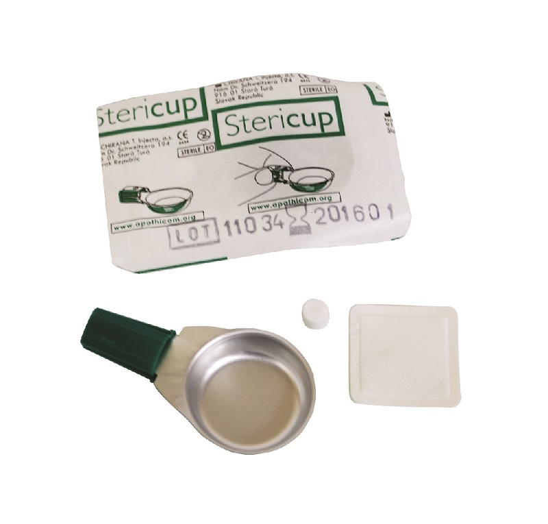 Stericup - Sterile colored cooker