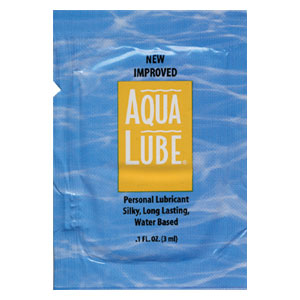 Aqua Lube 3ml Foils (1,152/ Case)