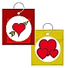 DISCONTINUED - Carnival Condom Beads - Hearts