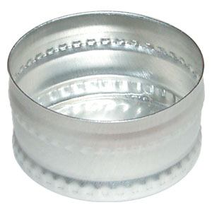Aluminum Rinse Caps (Ridged/Beaded Surface)<br>CURRENTLY NOT AVAILABLE<br>See Smooth Surface HR-C-S-1402