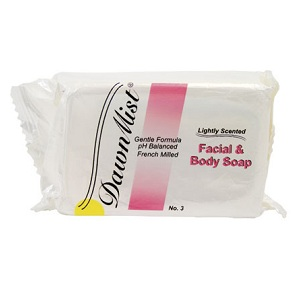 Dawnmist Facial & Body Soap 3oz Bar<br>Dukal SP30 (100/box)