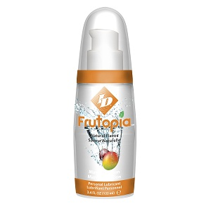 ID Frutopia Natural Mango Passion Lubricant 3.4oz Bottles