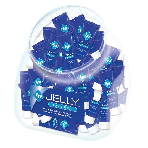 ID Jelly  Lubricant<br>12ml Resealable Tube<br>(72/ Jar)