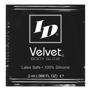 ID Velvet Silicone 2ml Foils<br>(144/bag)