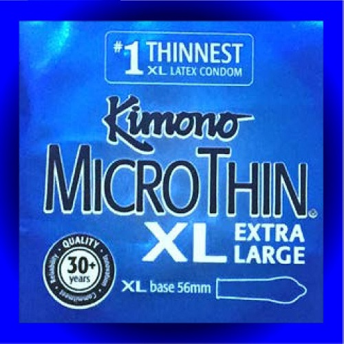 Kimono MicroThin XL Extra Large<br>(24 x 36ct/Case)